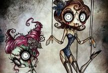 Humdinger dolls and such / Dolls, Sculptures, and, puppets