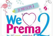 WE LOVE PREMA 2 / Toutes les créations des teams pour la 2ème édition de We Love Prema sont ici. Le BUT de #WeLovePrema est de collecter et de customiser  un maximum de bodies taille Préma, Naissance et 1 mois pour l'association SOS Préma. Pour en savoir + : http://bit.ly/22X2ijK