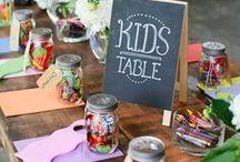 KIDS WEDDING TABLE