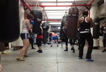 Women's World of Boxing Training / Providing Females of All Ages and Sizes, Technical Group and Private Boxing Training.