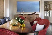 BEACH GETAWAY / Interior Designer Tommy Chambers and Builder Harry Jackman. This house was all new construction built on a challenging narrow lot just steps from the historic Hotel Del in Coronado, California. This tri-level, low maintenance beach house makes for a perfect second home getaway.