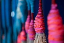 Art textiles & fabric & fiber.
