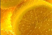 Lemons & oranges.
