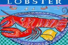 lobster, homard, kreeft...crab.