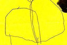 ART Yellow & Orange, Jaune & Orange, Geel & Oranje.