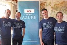 "Team Azure / Team Azure is a group of ""upbeat"" persons who work with Azure who enjoy challenging their limits and enjoy giving back to the community by taking part in events or organising initiatives to help other people in need."