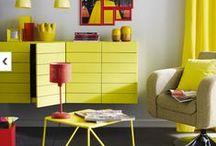 COULEURS // #Jaune / Un jaune éclatant pour une déco pétillante !