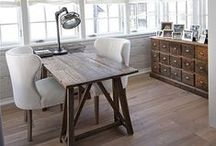 Home Office / Work spaces in your home.