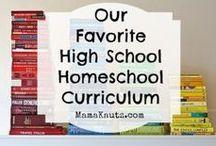 Homeschooling High School / Ideas for those homeschooling high school. / by Writing with Sharon Watson