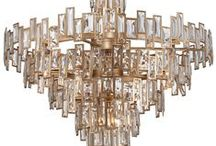 Golden Opulence / Experience the warmth and richness of these luxurious fixtures