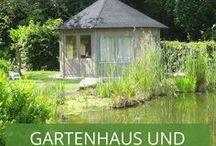 Gartenhaus und Teich / Wir zeigen euch, wie toll Gartenhäuser und Teiche harmonieren.