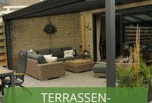 Terrassenüberdachungen / Wir geben euch Anregungen zu schönen und auch etwas ausgefallenen Terrassenüberdachungen. Lasst euch inspirieren!
