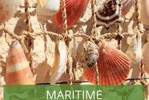 Maritime Dekoration / Deko-Inspirationen für den maritimen Stil.