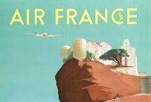 Vintage travel / Vintage posters & accessories related to travel.