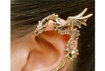 Biżuteria / Kolczyki, piercing, bransoletki, naszyjniki...