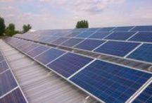 Napelem rendszerek / Képek fotovoltaikus napelem rendszerekről.