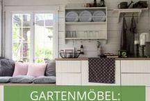 Stylecheck Gartenmöbel: Skandinavisch / Skandinavische Gärten liegen voll im Trend und begeistern durch Schlichtheit und bunte Farben: Lassen Sie sich inspirieren!