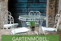 Stylecheck Gartenmöbel: Vintage & Shabby Chic / Der Garten ist Ihr romantisches Refugium? Dann passen Möbel im Shabby-Chic und Vintage-Look perfekt!
