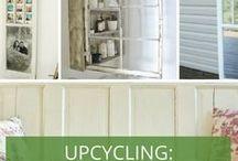 Upcycling Ideen - was aus dem alten Gartenhaus machen? / Gartenhaus auf den Müll? Bitte nicht! Wir zeigen Ihnen, wie Sie die Teile Ihres alten Gartenhauses wiederverwerten können.