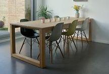 MOBILIER // #Tables / Alliez l'art de recevoir et le plaisir des yeux.