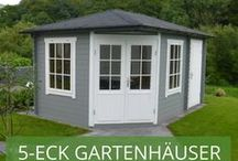 5-Eck-Gartenhäuser Teil 2