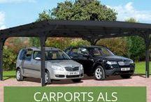Carports: Ein sicherer Stellplatz für Ihr Auto / Sie wollen Ihr Auto vor Wind und Wetter schützen, aber der Bau einer gemauerten Garage ist Ihnen zu teuer und aufwendig? Dann ist ein Carport eine perfekte Lösung für Sie! Bei uns finden Sie eine große Auswahl an verschiedenen Modellen: Von Einfach- bis Doppelcarports über Aluminiumcarports.