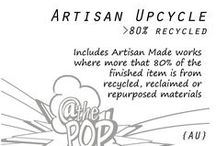 {Artisan Upcycle} At the Pop & Sculpture Play 3D / These are the art works and creative makings of mine and other artisans where the works are made mostly of recycled, reclaimed, repurposed and restored things.