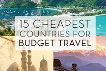 Travel Ideas for ANY Budget / Get ideas on how to travel the world on a BUDGET or in LUXURY, Ideas on #Flights, #Hotels, #Destination etc