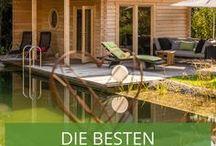 Die besten Kundenprojekte / Sie suchen nach Gartenhaus-Ideen oder Sauna-Beispiele für Ihren Garten? Lassen Sie sich von unseren besten Kundenprojekten inspirieren.