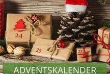 Schöne Adventskalender zum selber basteln / Die schönsten DIY Ideen für Adventskalender! Lassen Sie sich inspirieren.