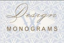 design: monograms / by Christina @ Christina Leigh Events