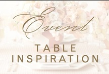 event: tables / Fabulous tables I would love to sit at for a lunch, wedding or special dinner. / by Christina @ Christina Leigh Events