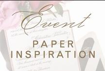 event: pretty paper / by Christina @ Christina Leigh Events