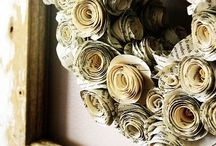 Crafty Ideas- Paper Crafts / by Samantha Nix
