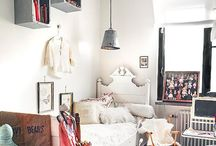 | kids' rooms | / Whimsical + eclectic kids' rooms