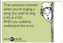 Funny, ha ha / Things I find amusing