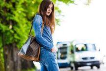 Denim-Jeans / DenimBlue / by Jigen 1