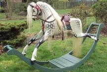 /\/\/\/Rockin'-n-Buckin'\/\/\/\ / Horse Décor,Toys, Statues, Carousels, Rocking Horses... / by Robin Roberts
