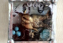 <: For the Birds :> / Bird Cages, Bird Houses, Items for Birds & adorned with Birds! / by Robin Roberts