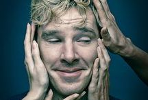 Benedict Cumberbatch: The first actor in history to play Sherlock Holmes who has a name more ridiculous than Sherlock Holmes. / Benedict Cumberbatch the cutie / by Kaylynn ;