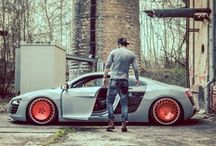 Wheels: Audi / Cars that wear four rings from Ingolstadt  / by Mr. X