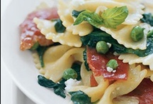 Spring / Seasonal dishes with Asparagus, Peas, Strawberries, Rhubarb, etc...