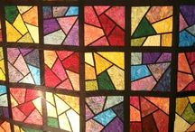 Quilts / Quilts that I like. Maybe it's just the colours. Maybe I could make one too?