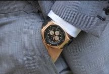 """Timing is Everything: Audemars Piguet / Fine Swiss watches from Le Brassus.   """"To break the rules, you must first master them."""" - AP / by Mr. X"""