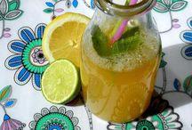 Lemoniady, smoothie, koktajle. / Przepisy na napoje. Chłodne, smaczne i zdrowe.