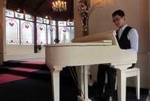 For my bridesmaids / Melbourne pianist Calvin Leung is regarded as one of Melbourne's most talented professional pianists for wedding ceremonies, pre-dinner drinks, receptions, anniversaries, proposals, private events and corporate functions is Calvin Leung.