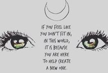 Moon-spiration / Moon Motivational quotes and things!