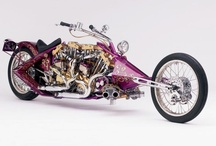 Chopper & Bobber / Motorcycle chopper and bobber  Harry-Davidson triumph and Bagger more... / by motocroquis