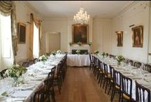 Wedding receptions / A variety of wedding receptions at Pentillie Castle, big and small!