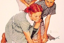 ART- Norman Rockwell / FEEL FREE TO PIN AS MANY OF THESE PINS AS YOU LIKE, and without feeling obliged to follow the board too! GO FOR IT, RELAX, ENJOY.  / by Kath G